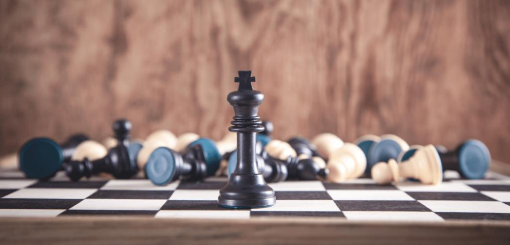 Le roi aux échecs