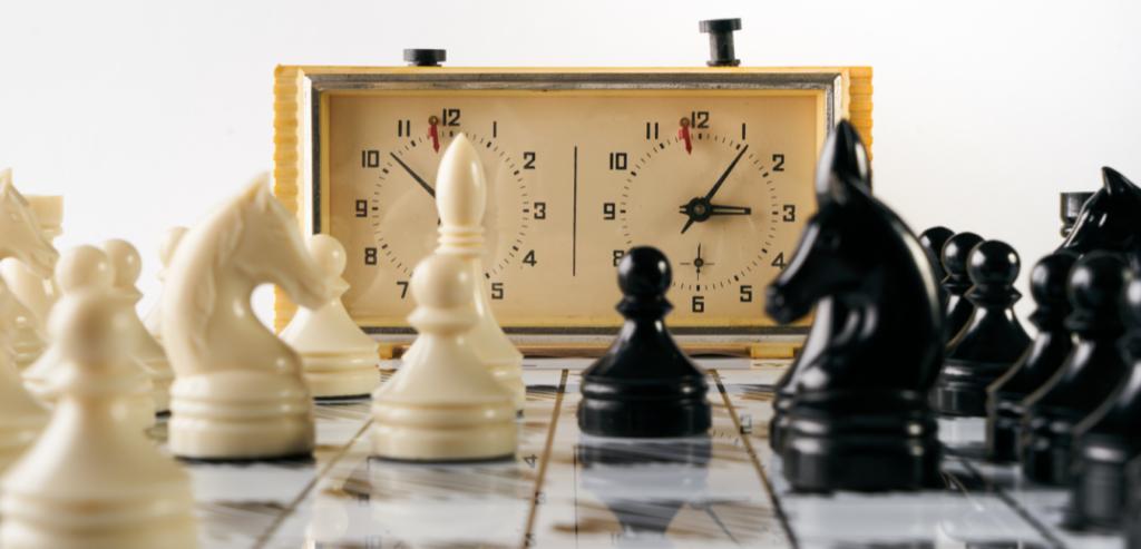 Les Pendules de jeu d'échec